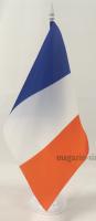 Флаг Франции настольный на подставке