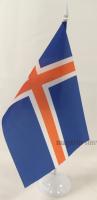 Флаг Ногвегии настольный на подставке