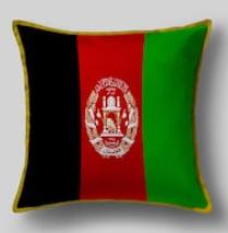 Подушка с флагом Афганистана