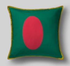 Подушка с флагом Бангладеша