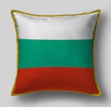 Подушка с флагом Болгарии