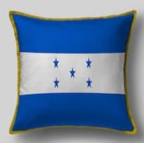 Подушка с флагом Гондураса
