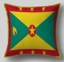 Подушка с флагом Гренады