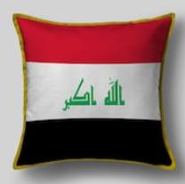 Подушка с флагом Ирака