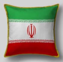 Подушка с флагом Ирана