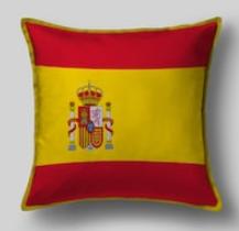 Подушка с флагом Испании