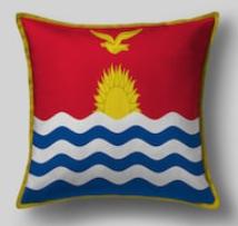 Подушка с флагом Кирибати