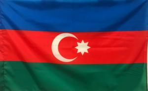 Флаг Азербайджана двусторонний