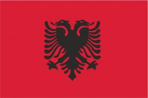 Флаг Албании двусторонний