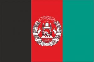 Флаг Афганистана двусторонний