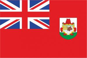Флаг Бермуд двусторонний