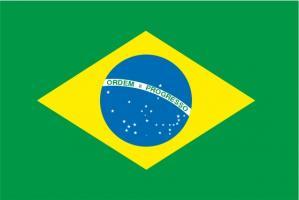 Флаг Бразилии двусторонний