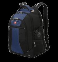 """Рюкзак Wenger 15"""", черный/синий, 36x19x47 см, 32 л"""