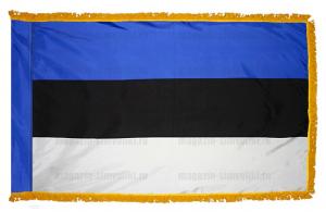 Флаг Эстонии с бахромой