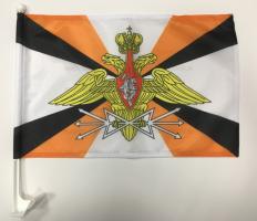 Флаг Войск Связи на машину