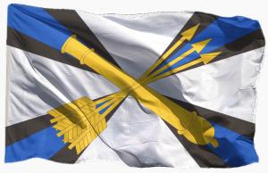 Официальный флаг ПВО России