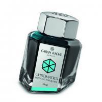 Carandache Чернила (флакон), бирюзовые (Hypnotic Turquoise), 50 мл