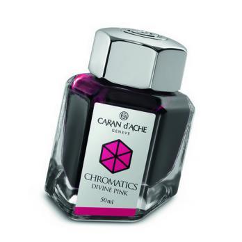 Carandache Чернила (флакон), розовые (Divine Pink), 50 мл