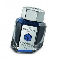 Carandache Чернила (флакон), синие (Magnetic Blue), 50 мл