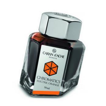 Carandache Чернила (флакон), оранжевые (Electric Orange), 50 мл