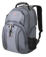 """Рюкзак Wenger 15"""", серый/серебристый, 35х16х48 см, 26 л"""