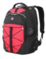 """Рюкзак Wenger 15"""", чёрный/красный, 34x19x46 см, 30 л"""
