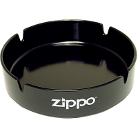 Пепельница Zippo, долговечный пластик, чёрная