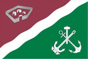 Флаг Нагатинского Затона(район г. Москва)