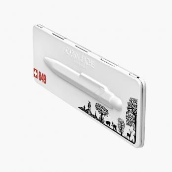 Carandache Office 849 Pop Line - Totally Swiss, шариковая ручка, M