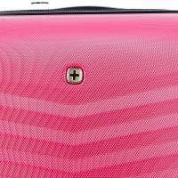 Чемодан Wenger Fribourg, красный, 33x23x55 см, 35 л
