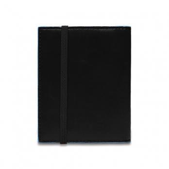 Чехол для кредитных/визитных карт Piquadro Blue Square, черный, 8,8x10,5x1,2 см