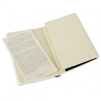 Блокнот Moleskine Classic Soft Pocket, цвет черный, без разлиновки