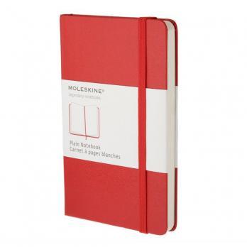 Блокнот Moleskine Classic Large, цвет красный, без разлиновки