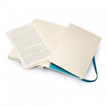 Блокнот Moleskine Classic Soft Pocket, цвет бирюзовый, в линейку
