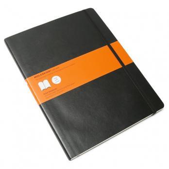 Блокнот Moleskine Classic Soft XL, цвет черный, в линейку