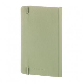Блокнот Moleskine Classic Pocket, цвет зеленый, в линейку
