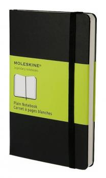 Блокнот Moleskine Classic Soft Large, цвет черный, без разлиновки