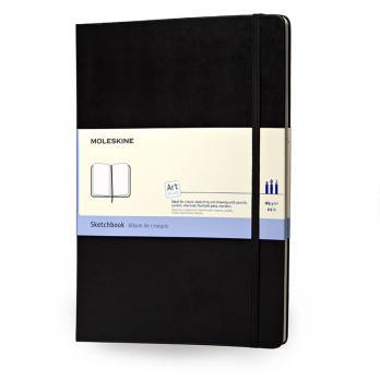 Блокнот Moleskine Sketchbook Large, цвет черный