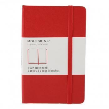 Блокнот Moleskine Classic Pocket, цвет красный, без разлиновки