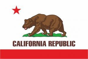 Флаг штата Калифорния(США)
