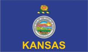 Флаг штата Канзас(США)