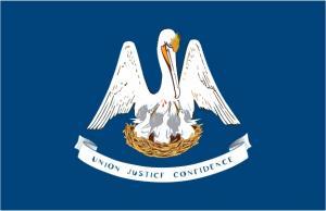 Флаг штата Луизиана(США)