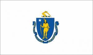 Флаг штата Массачусетс(США)