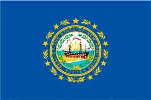 Флаг штата Нью-Гэмпшир(США)