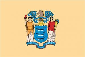 Флаг штата Нью-Джерси(США)
