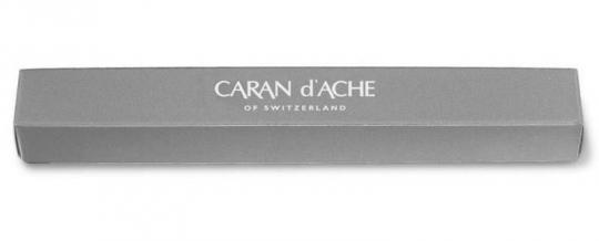 Carandache Office 849 Classic - Grey, шариковая ручка, M, подарочная коробка