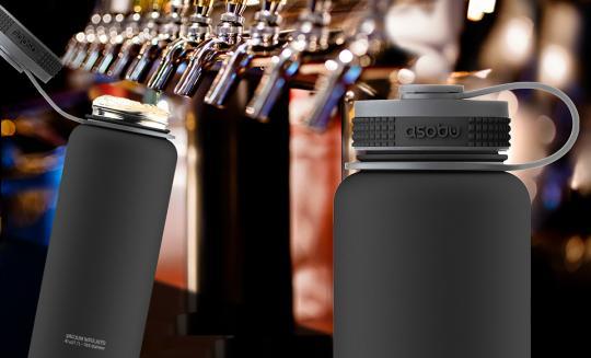 Термос Asobu Mighty flask (1,1 литра), черный