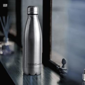 Термос-бутылка Asobu Central park (0,51 литра), стальная*
