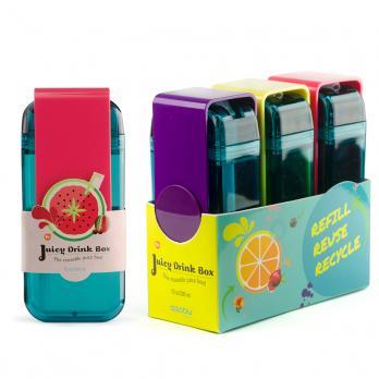 Мини-бокс для сока Asobu Juicy box (0,29 литра), голубой*