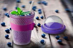 Контейнер Asobu Chill yo 2 go (0,38 литра), фиолетовый*